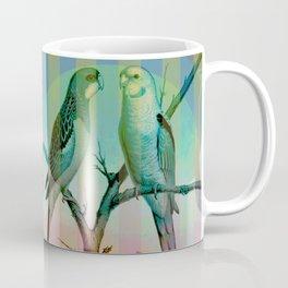 2 Pretty Parrots Coffee Mug