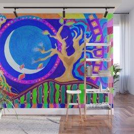 Seasons & Phases Wall Mural