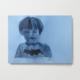 The boy who loved batman Metal Print
