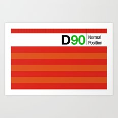 D90 Art Print
