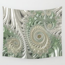 Satin lace neutrals  Wall Tapestry