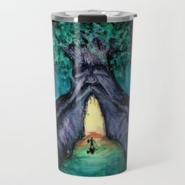 Great Deku Tree Fan Art Painting Travel Mug