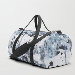 indigo: abstract painting Duffle Bag