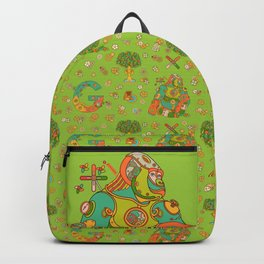 Gorilla, cool wall art for kids and adults alike Backpack