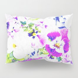 Paper Flowers Pillow Sham