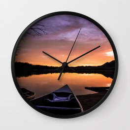 The Best of Fall Wall Clock
