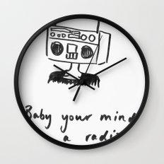 Radiohead Wall Clock