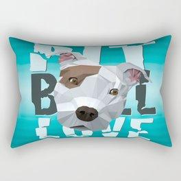 Pit Bull Rectangular Pillow