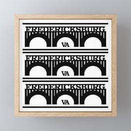 Fred City VA Framed Mini Art Print