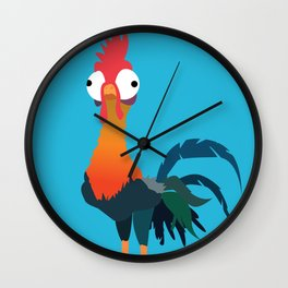 Hei Hei from Moana Wall Clock