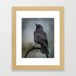 The Look Out Framed Art Print