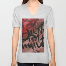 Two and Two Unisex V-Neck