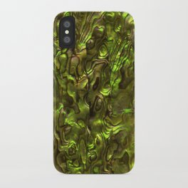 Abalone Shell | Paua Shell | Yellow Tint iPhone Case