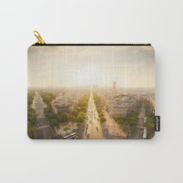 Champs Elysees From the Top Carry-All Pouch