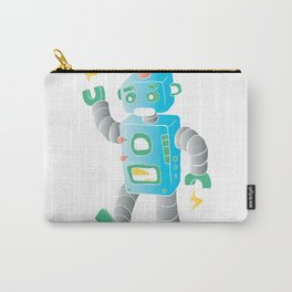 cartoon toy robot. Carry-All Pouch