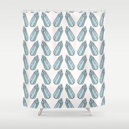 Sacred Esoteric Quartz Crystal Magic Shower Curtain
