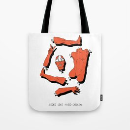 LOOKS LIKE FRIED CHICKEN Tote Bag
