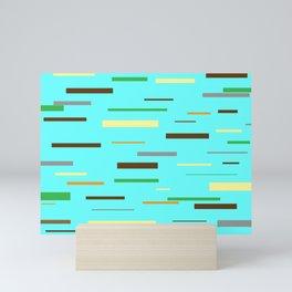 Floating Planks Mini Art Print