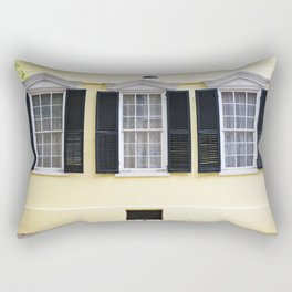 Sunny Charleston Windows Rectangular Pillow