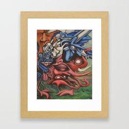 Stampede Framed Art Print