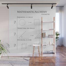 MathematicAlchemy - Geometry Wall Mural