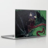 venom Laptop & iPad Skins featuring Venom by MATT DEMINO