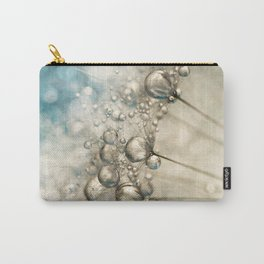 Sapphire & Silver Sparkle Carry-All Pouch
