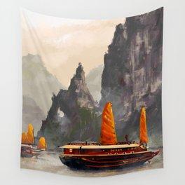 Ha Long Bay Wall Tapestry