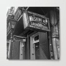 Washateria Metal Print