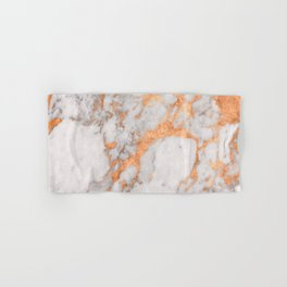 Copper Marble Hand & Bath Towel