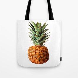 Pineapple Tropical Fruit Vector Art Tote Bag