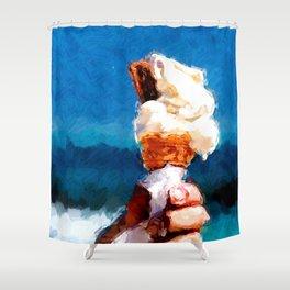 Eis Shower Curtain