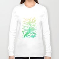 crane Long Sleeve T-shirts featuring Crane by ArtsDianti
