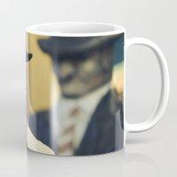 agent carter Mugs featuring agent by Ilona Shevchishina