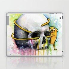 Jake the Dog and Skull Laptop & iPad Skin