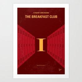 No309 My The Breakfast Club mmp Art Print