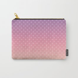 Lilac pink yellow Ombre . Carry-All Pouch
