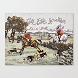 Tally Ho Canvas Print