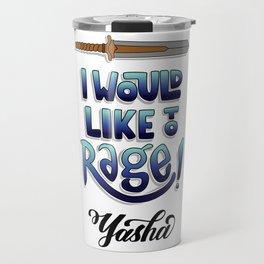 Critical Role - I would like to rage (Yasha) Travel Mug