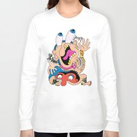 weird Long Sleeve T-shirts featuring Weird Pattern by Chris Piascik