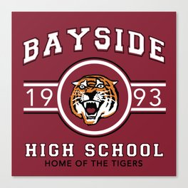 Bayside Tigers Canvas Print