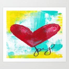 Love n Joy Art Print