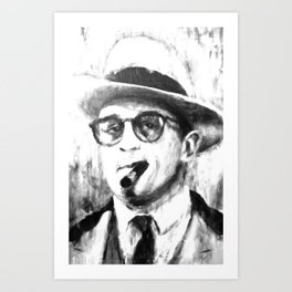 Al capone in The Untouchables Art Print