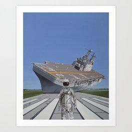 The Runway Art Print