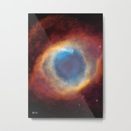 Hubble Telescope: Helix Nebula Metal Print