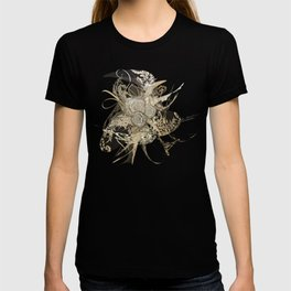 50 Shades of lace Gold Gold T-shirt