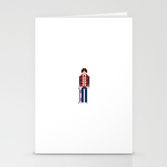8-bit Back to The Future Stationery Cards