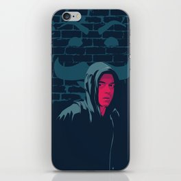 Mr. Robot - series poster iPhone Skin