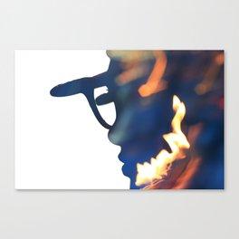 Fire Girl Canvas Print