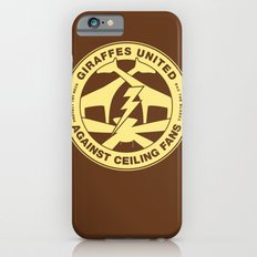 Giraffes United Against Ceiling Fans iPhone 6 Slim Case